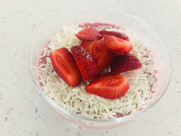 healthy dessert diary-free, gluten-free