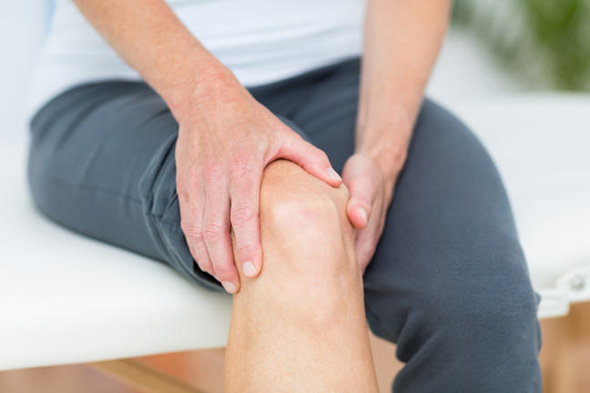 Knee pain indicates inflammation